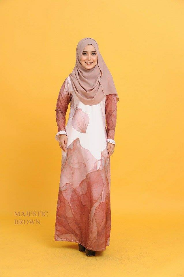 JUBAH 3D EKSKLUSIF MAJESTIC BROWN