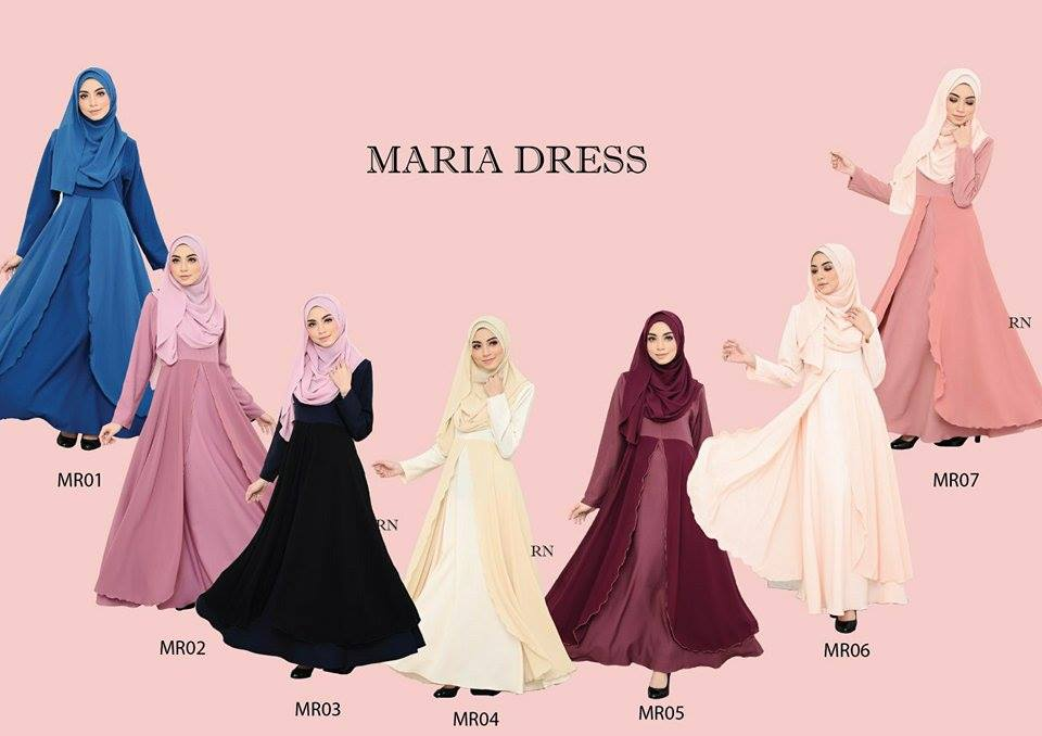 JUBAH LAYER MARIA MR ALL