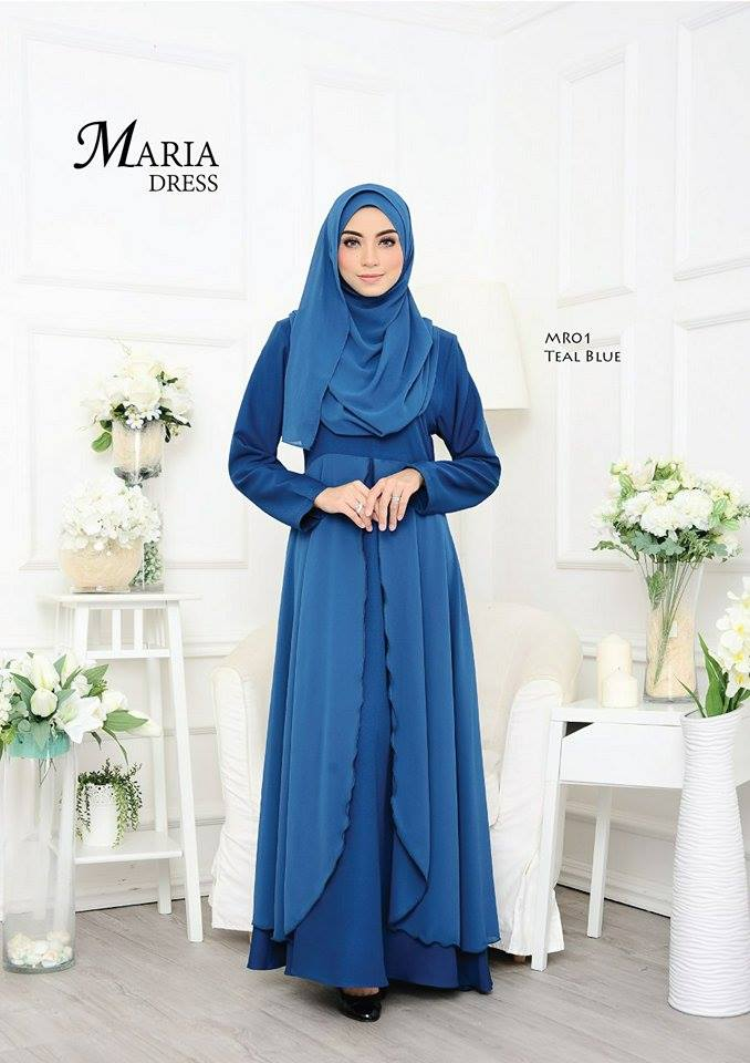 JUBAH LAYER MARIA MR01 1