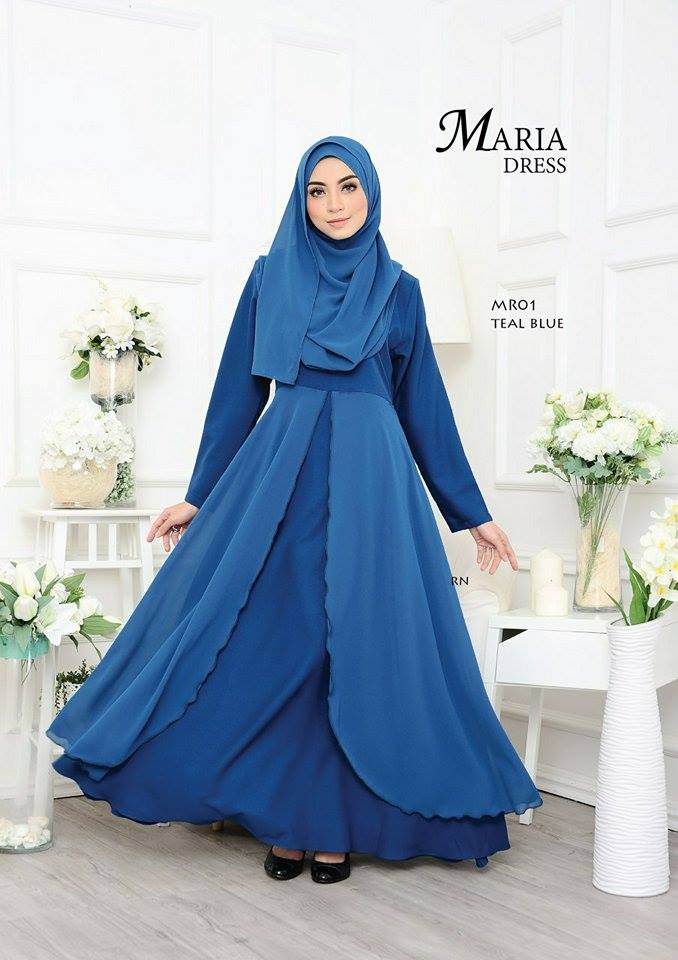 JUBAH LAYER MARIA MR01 2