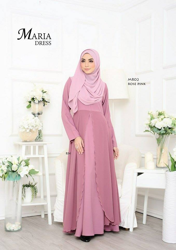 JUBAH LAYER MARIA MR02 1