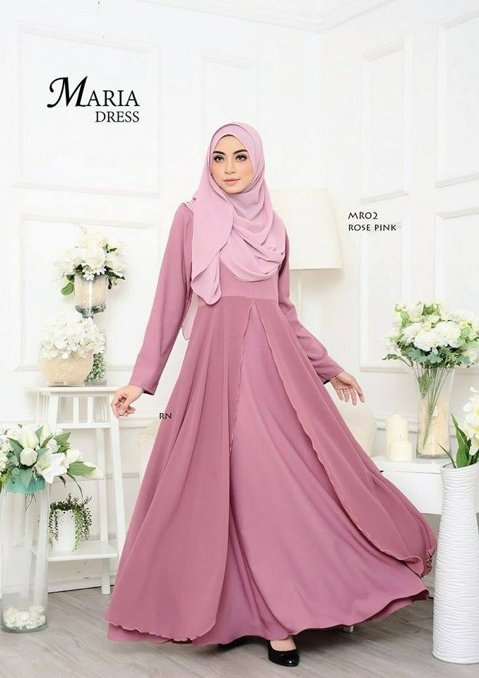 JUBAH LAYER MARIA MR02 2