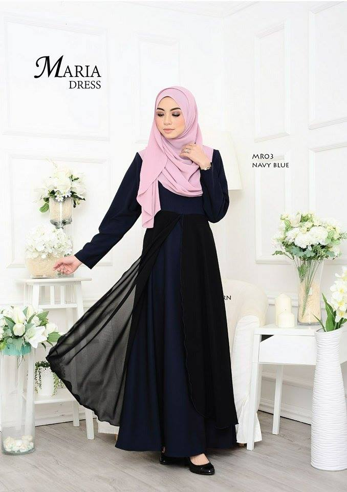JUBAH LAYER MARIA MR03 1