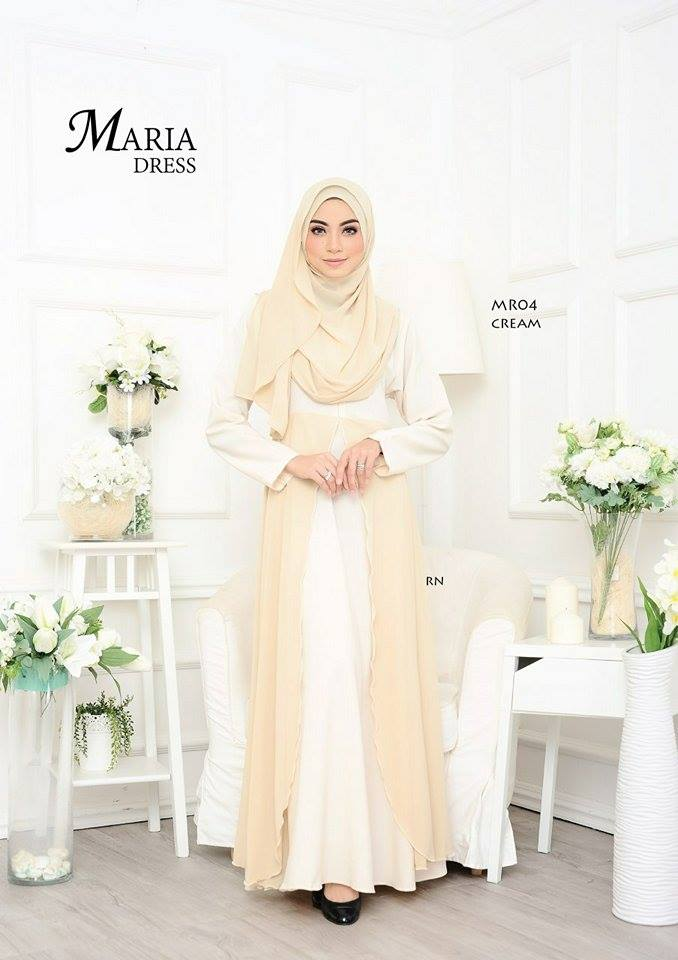 JUBAH LAYER MARIA MR04 1