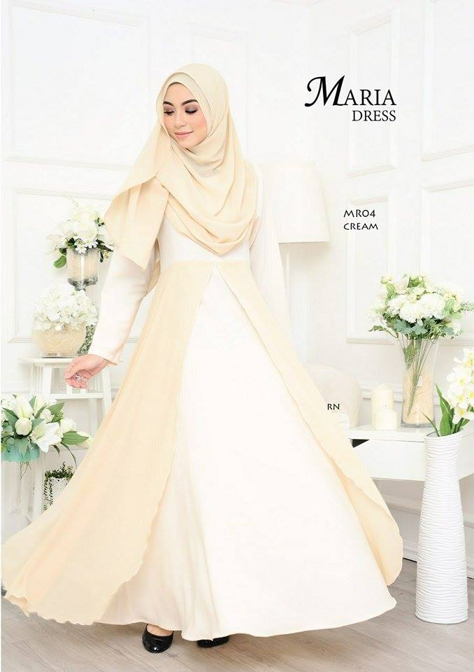 JUBAH LAYER MARIA MR04 2