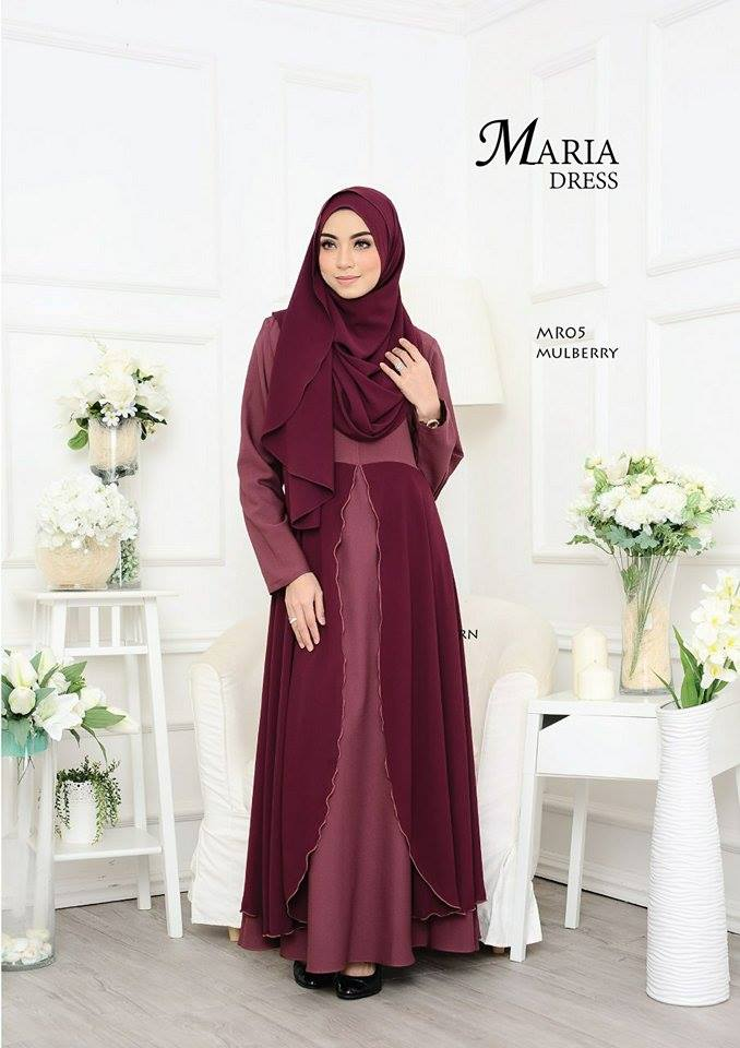 JUBAH LAYER MARIA MR05 1