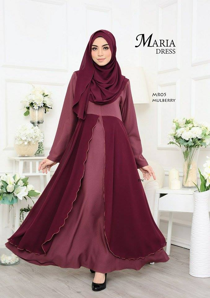 JUBAH LAYER MARIA MR05 2