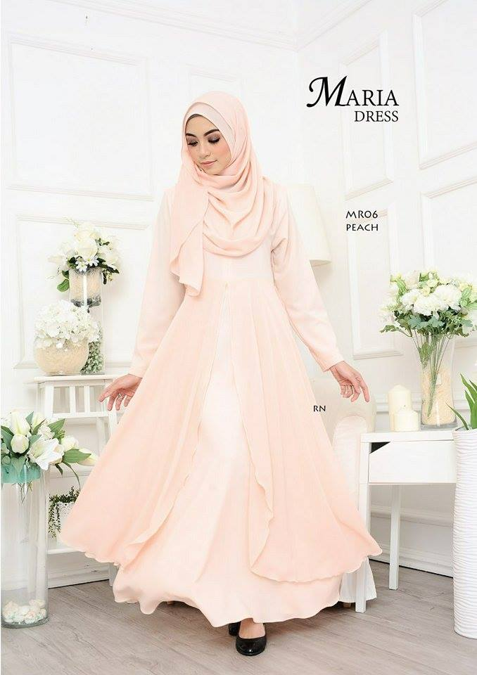 JUBAH LAYER MARIA MR06 1
