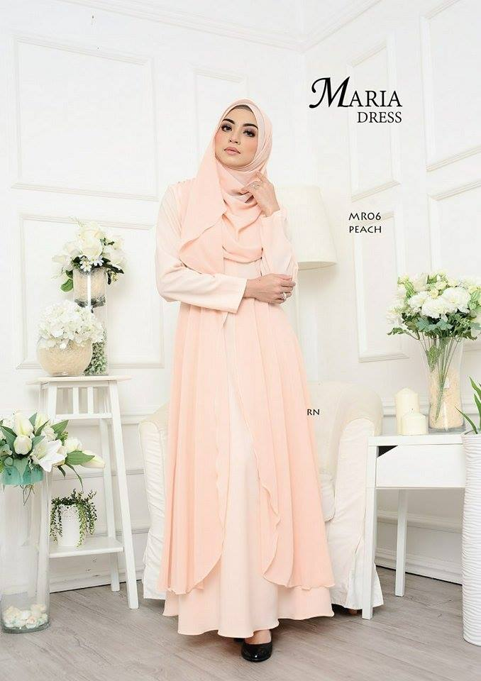 JUBAH LAYER MARIA MR06 2