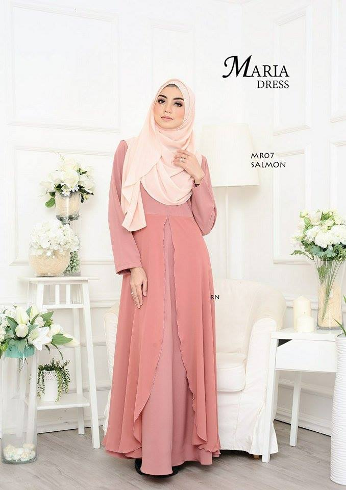JUBAH LAYER MARIA MR07 1