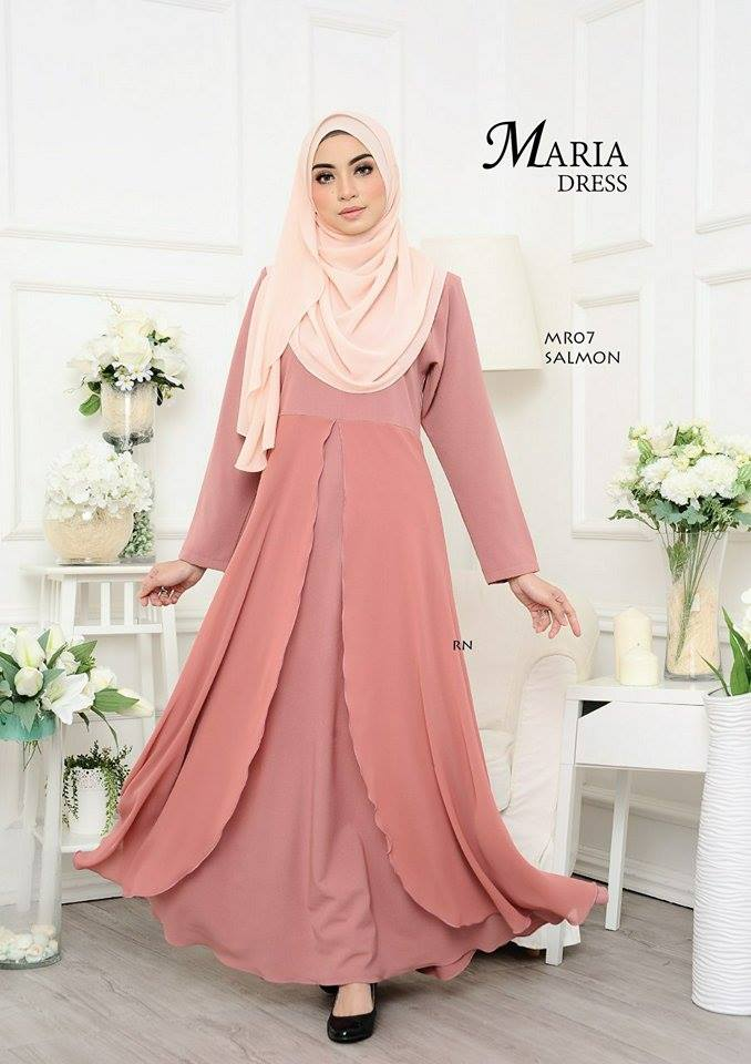 JUBAH LAYER MARIA MR07 2
