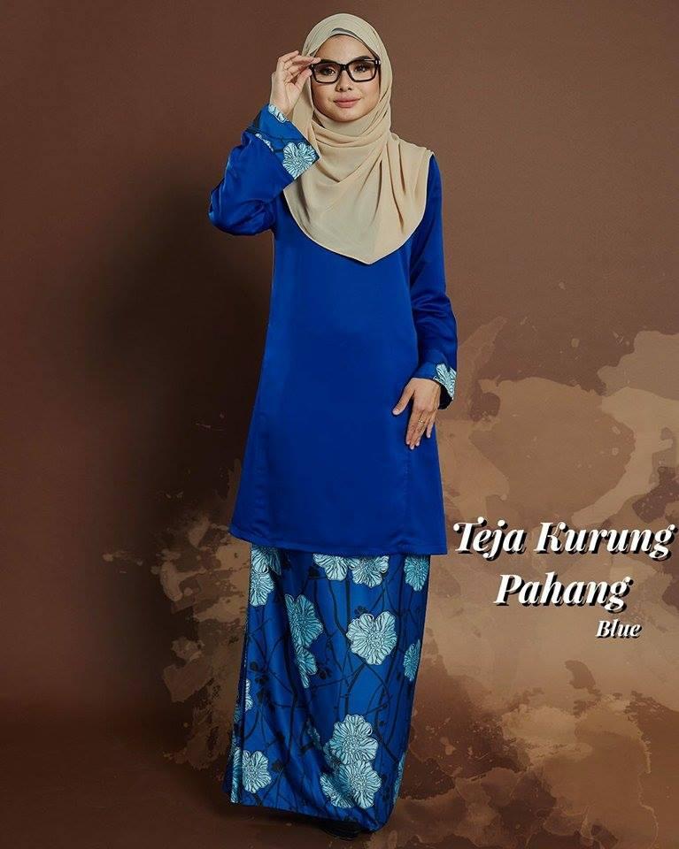 KURUNG PAHANG TEJA BLUE