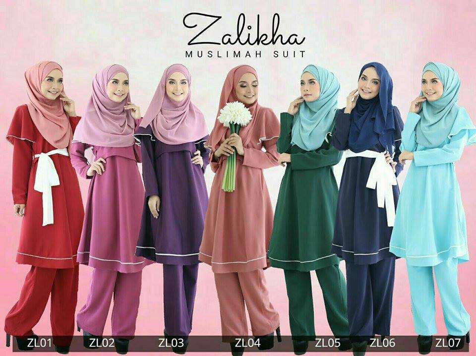 SUIT MUSLIMAH ZALIKHA ALL