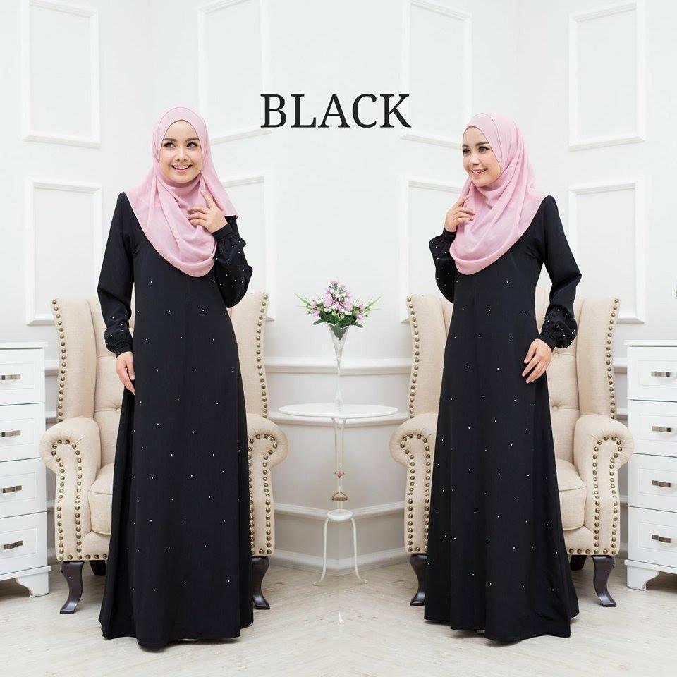 JUBAH BALQIS BLACK