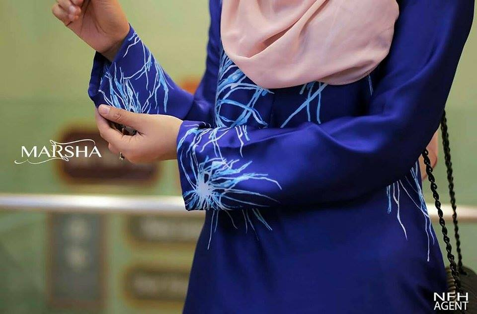 KURUNG MODEN MARSHA CLOSE UP 2