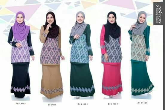 KURUNG MODEN ZAHEERA ALL