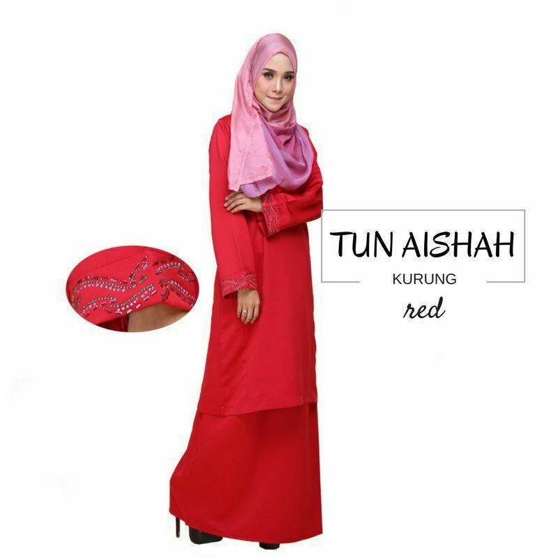 KURUNG PAHANG TUN AISHAH RED