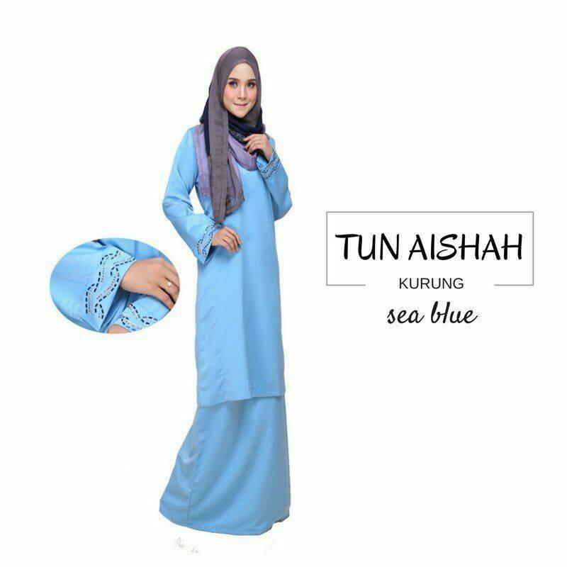 KURUNG PAHANG TUN AISHAH SEA BLUE