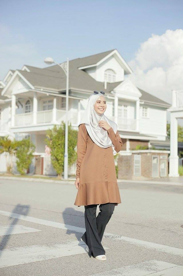 MUMTAZ TUNIC BROWN 2