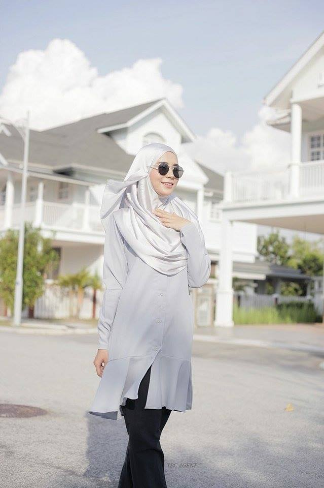 MUMTAZ TUNIC LIGHT GREY 2