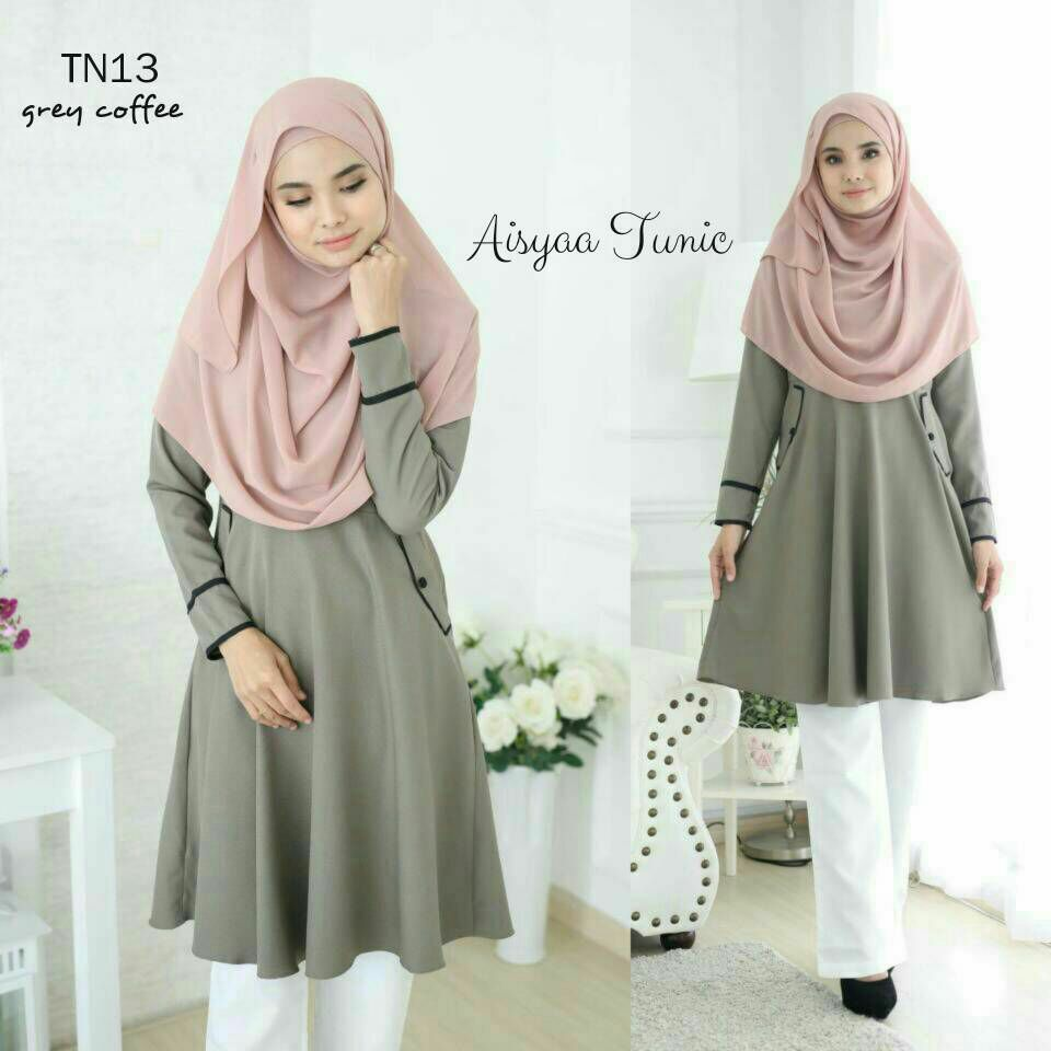 AISYAA TUNIC GREEN