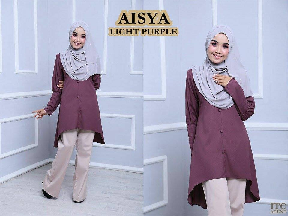 BLOUSE AISYA LIGHT PURPLE