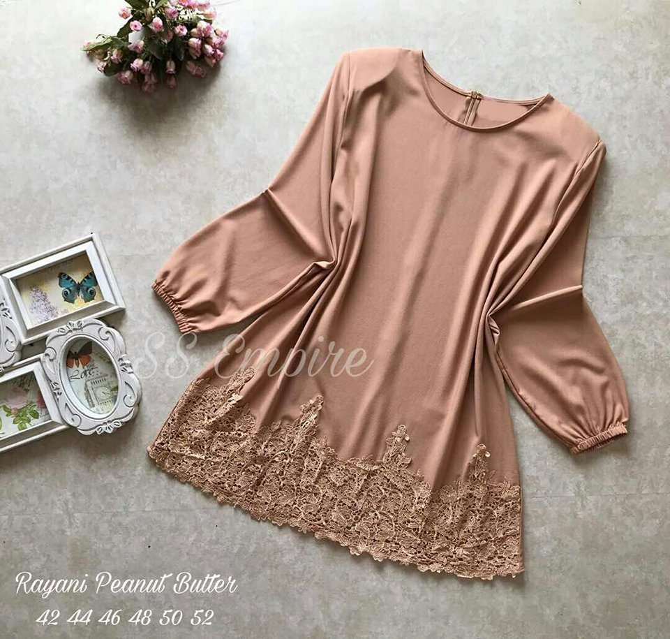 BLOUSE LACE RAYAN BUTTER
