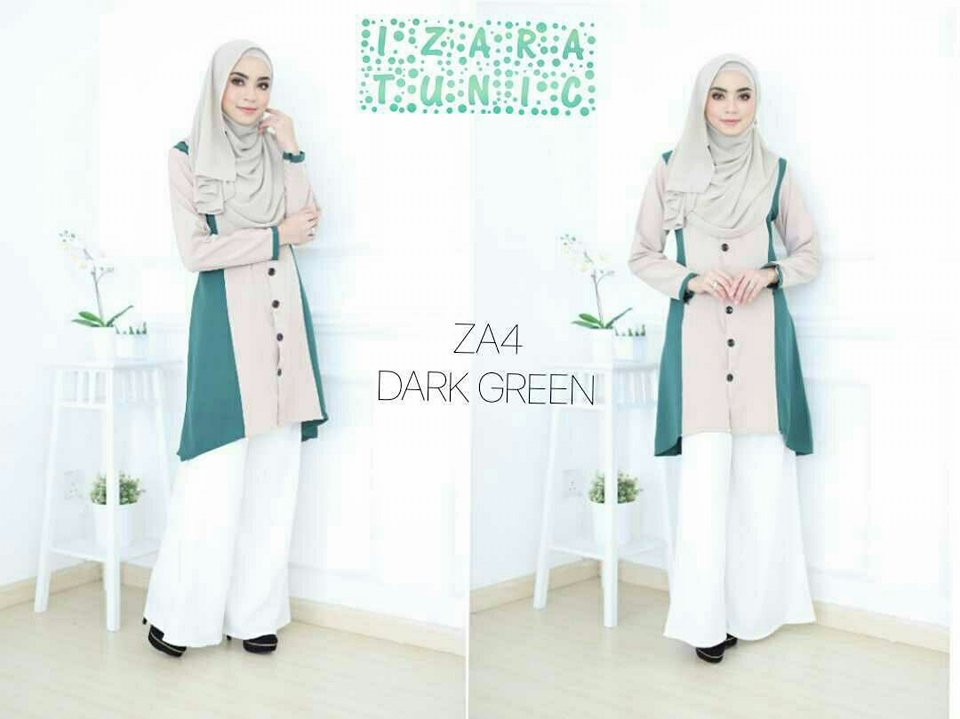 IZARA TUNIC D GREEN