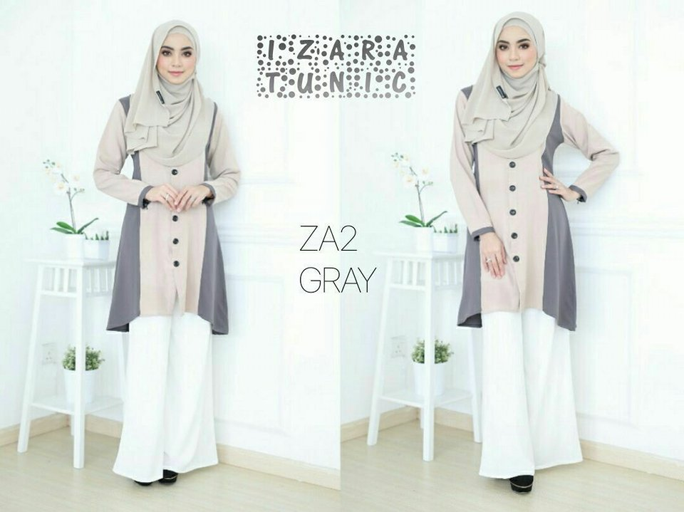 IZARA TUNIC GREY