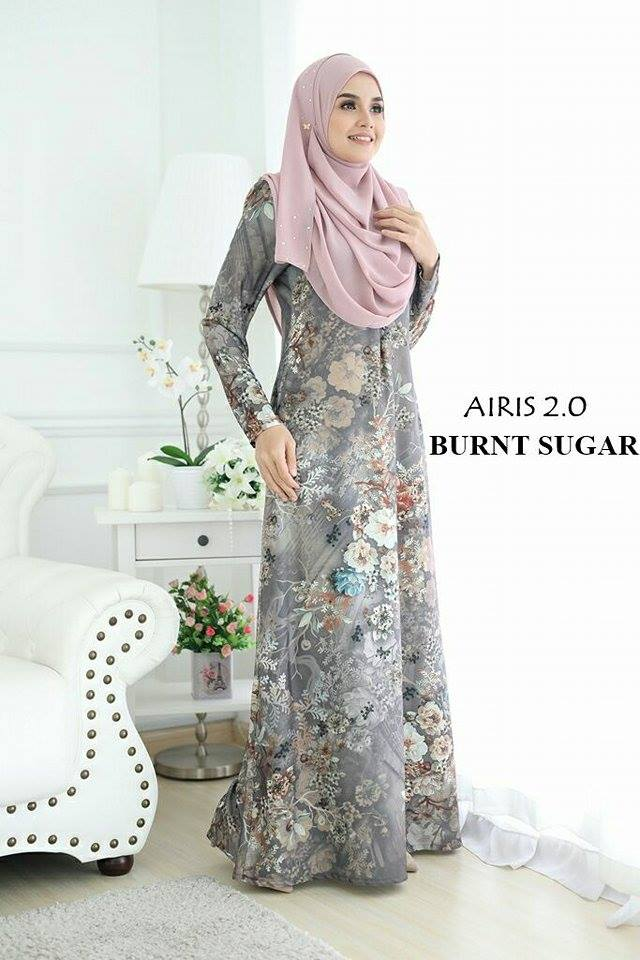 JUBAH AIRIS 2.0 BRUNT SUGAR