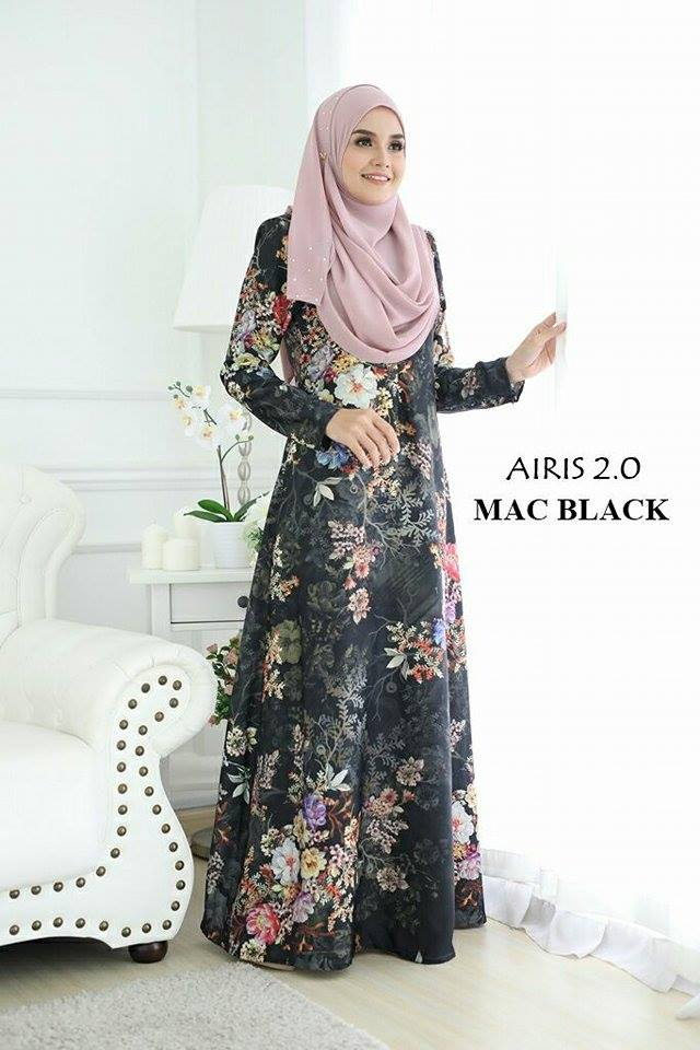 JUBAH AIRIS 2.0 MAC BLACK