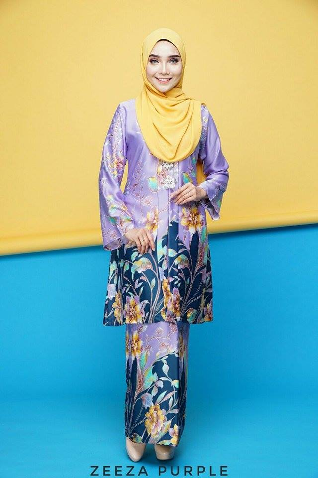 KEBAYA ZEEZA PURPLE
