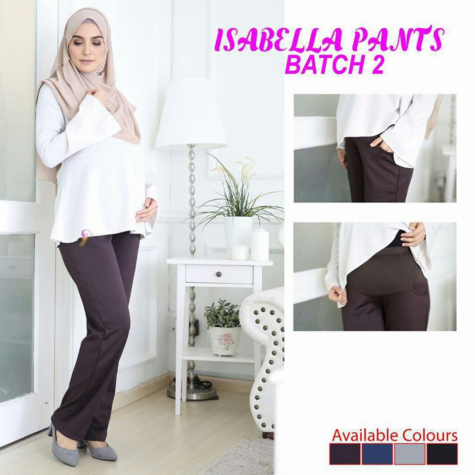 SELUAR PREGGY ISABELLA DARK BROWN 1