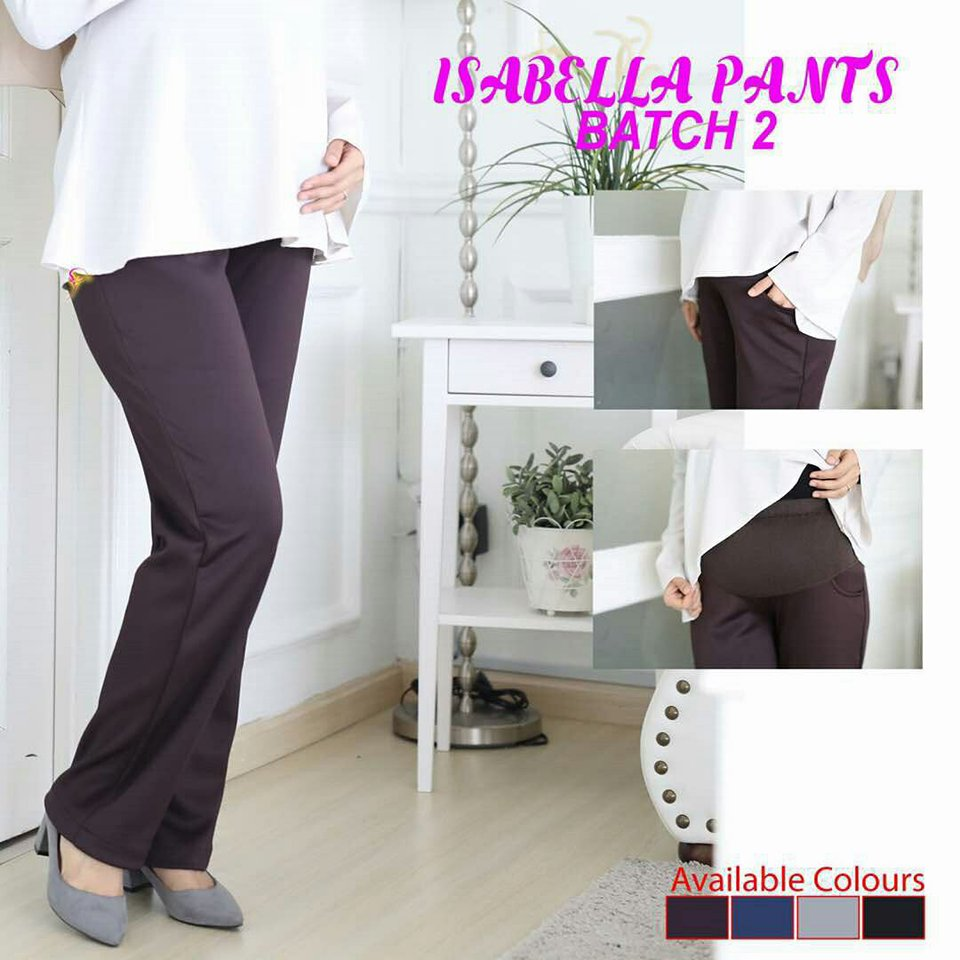 SELUAR PREGGY ISABELLA DARK BROWN 2