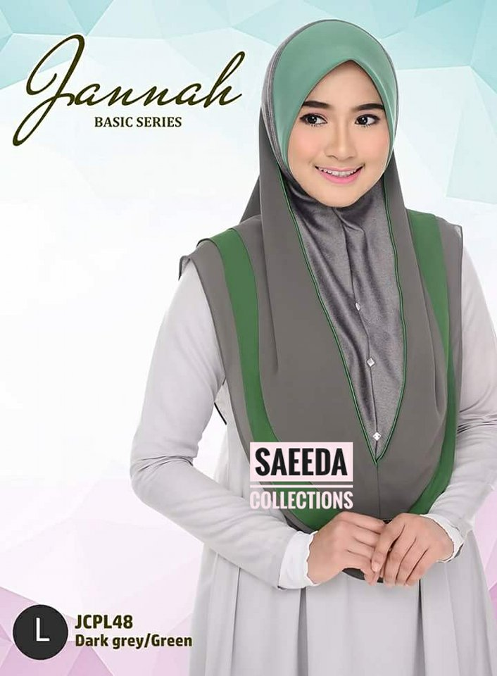 TUDUNG JANNAH SAIZ L JCPL48