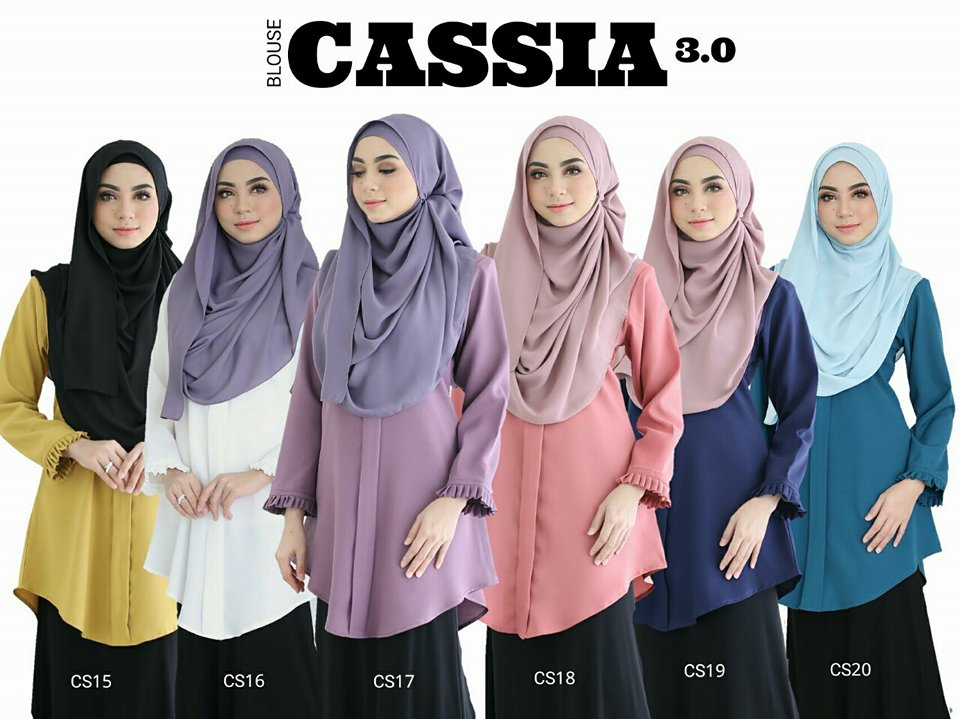 BLOUSE CASSIA 3.0 CS all