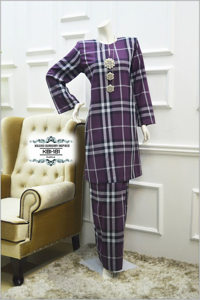 KURUNG BURBERRY INSPIRED KBI181 1