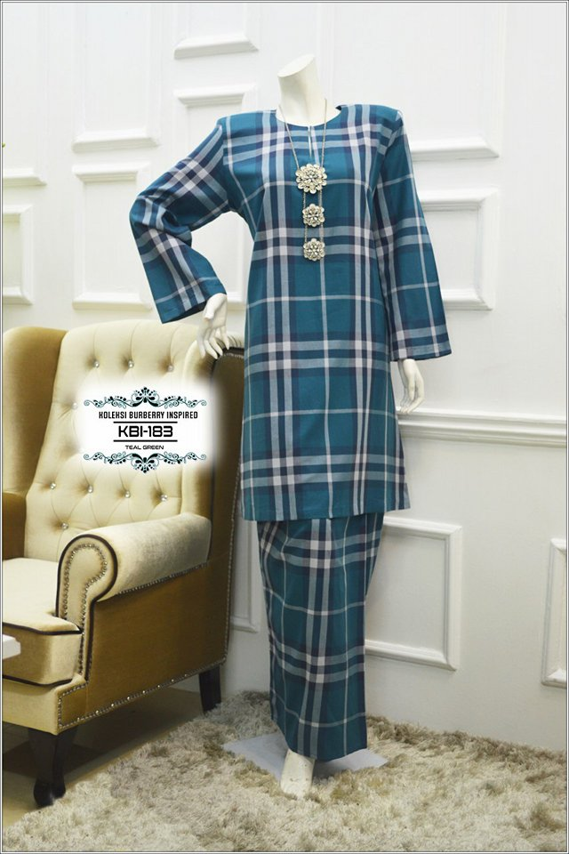 KURUNG BURBERRY INSPIRED KBI183 1