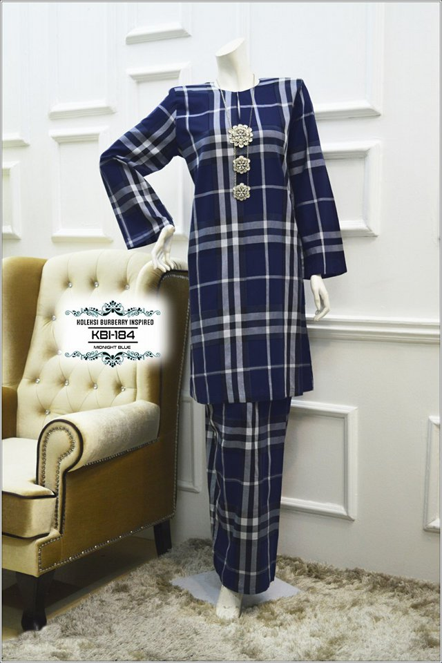 KURUNG BURBERRY INSPIRED KBI184 1