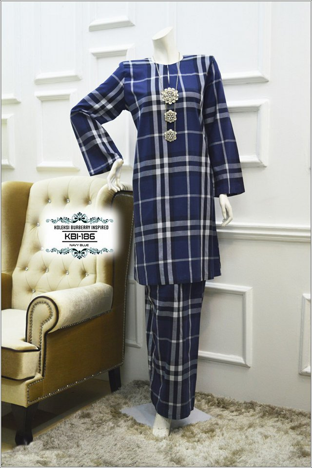 KURUNG BURBERRY INSPIRED KBI186 1
