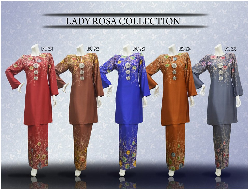 KURUNG LADY ROSSA COLLECTION LRC ALL