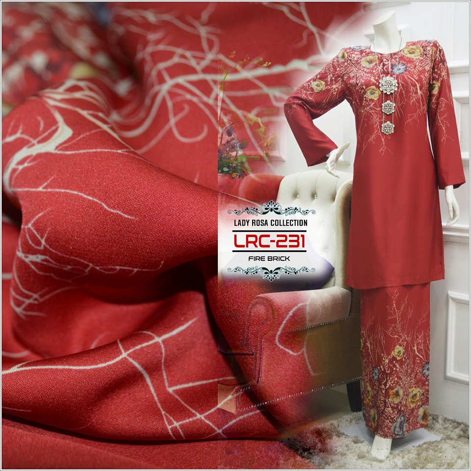 KURUNG LADY ROSSA COLLECTION LRC231 3