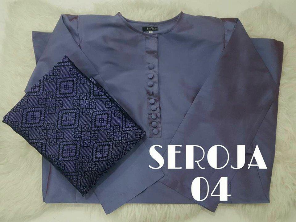 KURUNG PAHANG SONGKET TENUN SEROJA 04 2
