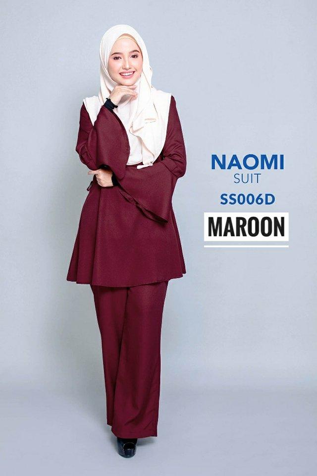 SUIT MUSLIMAH NAOMI SS006D