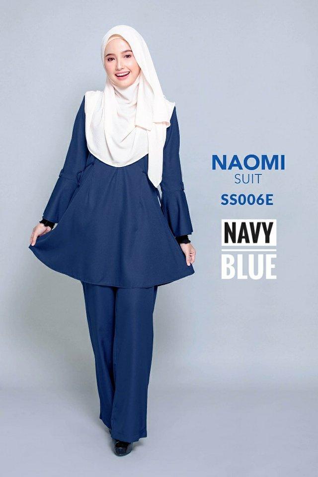 SUIT MUSLIMAH NAOMI SS006E