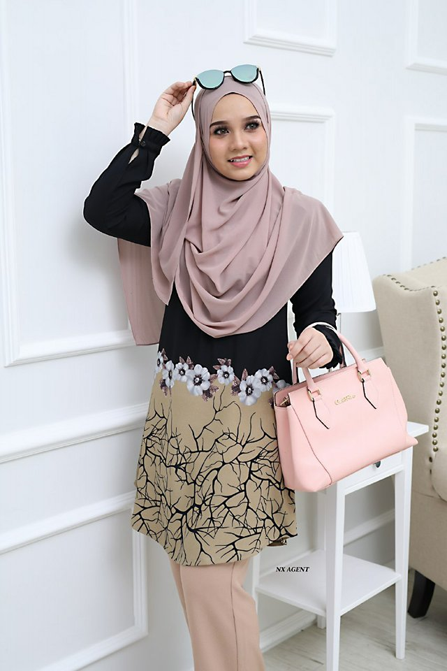 BLOUSE CAMELIA BLACK 1