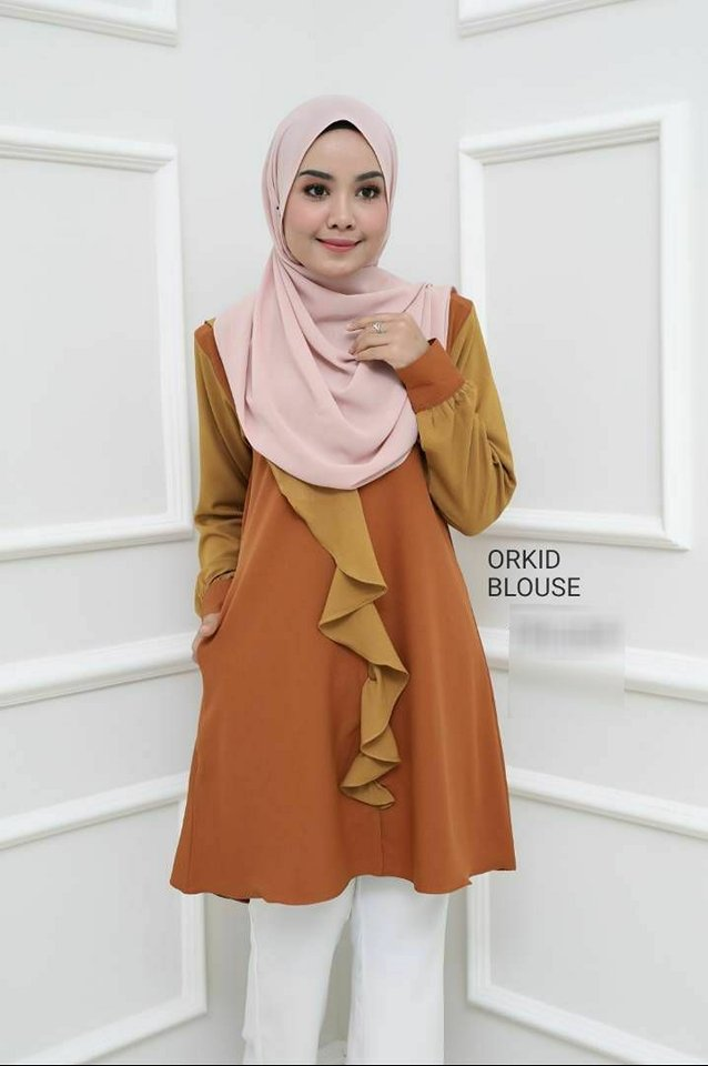 BLOUSE MUSLIMAH ORKID 2