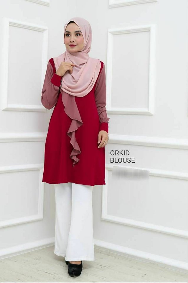 BLOUSE MUSLIMAH ORKID 3