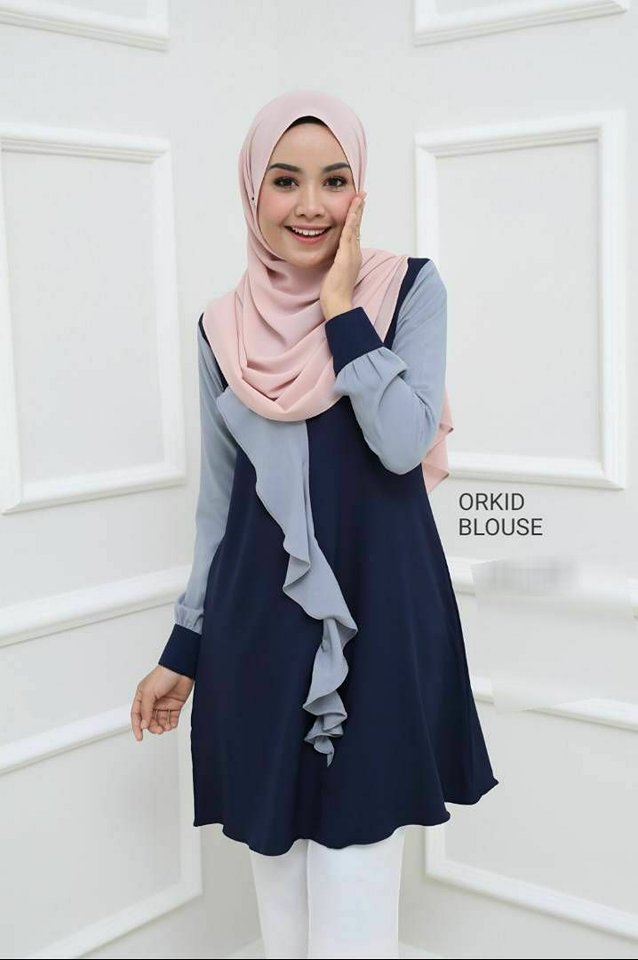 BLOUSE MUSLIMAH ORKID 4