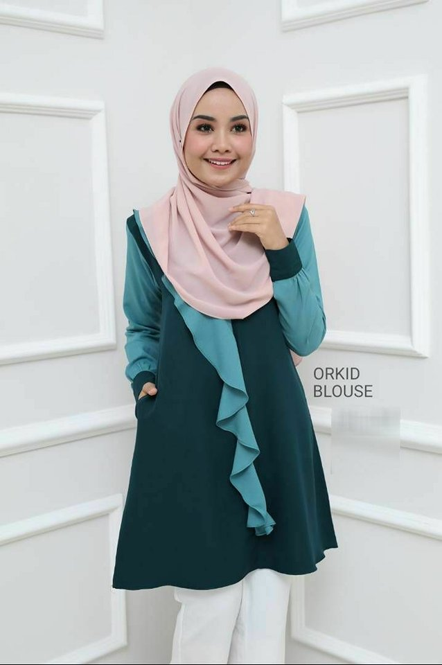 BLOUSE MUSLIMAH ORKID 5